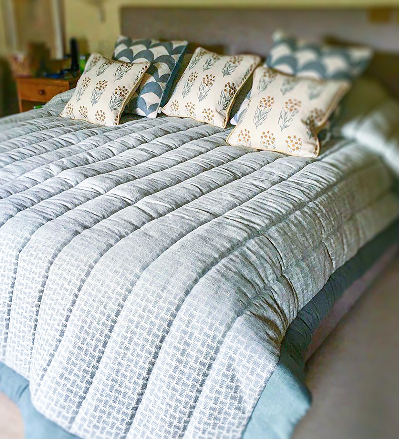 Soft furnishings bedspread maker Henley-on-Thames