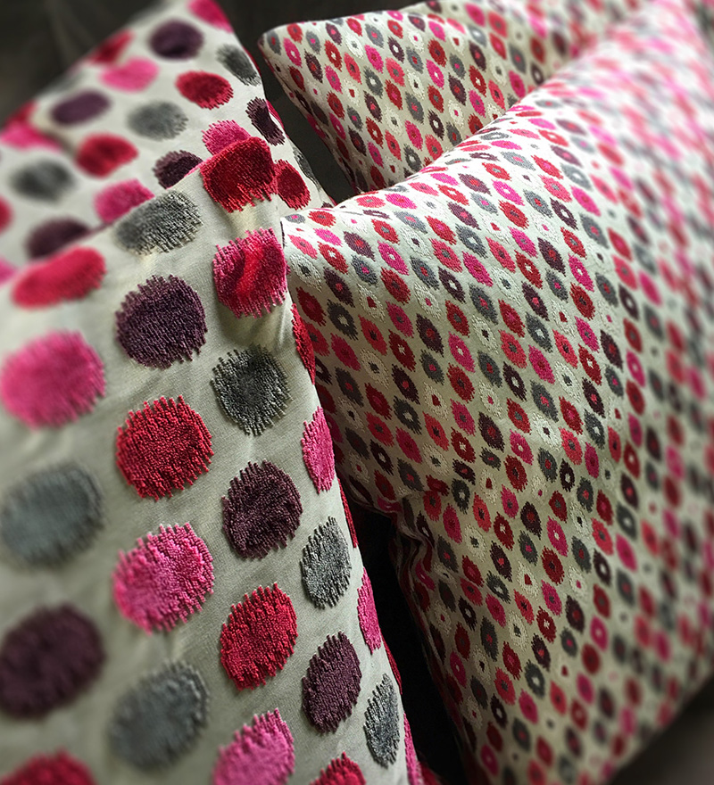 Soft furnishings bespoke cushion maker Henley-on-Thames