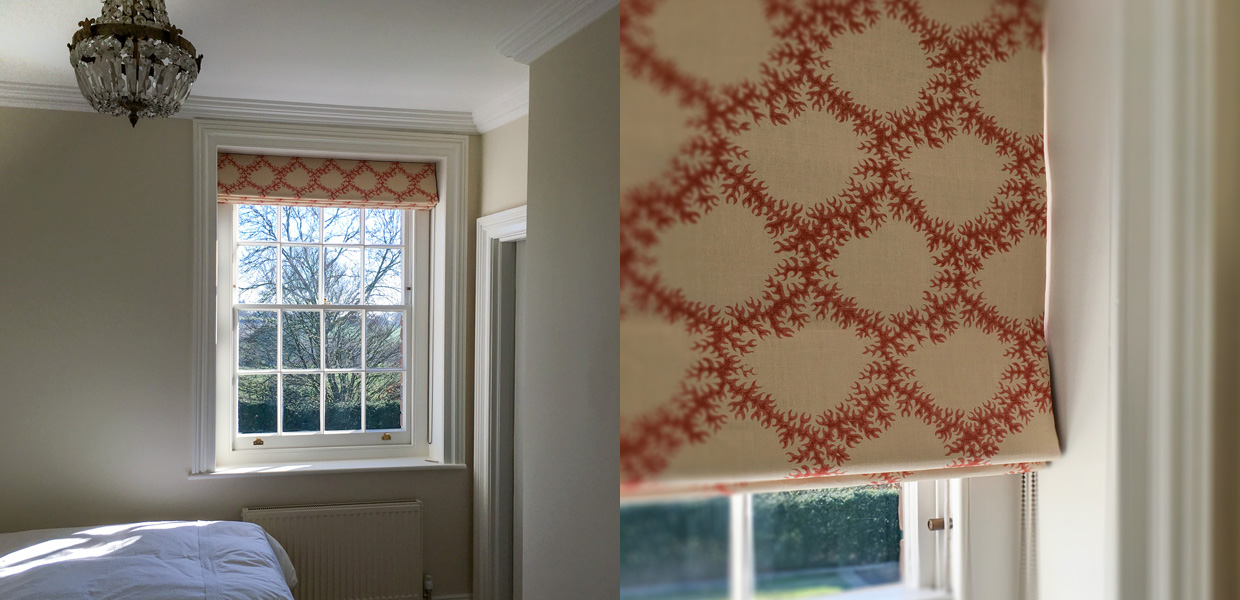 Made to measure roman blinds Henley-on-Thames, London, Marlow