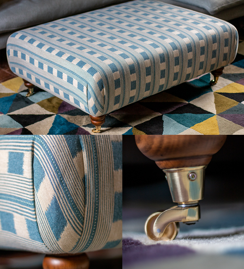 Bespoke made footstools henley-on-thames
